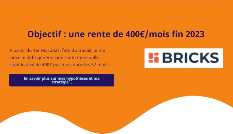 L'aventure de Sebino dans Brick.co Sebino a investi 5000€ dans Bricks.co et partage ses résultats et ses performances mois après mois.